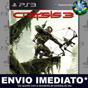 Crysis 3 Midia Digital Ps3 Envio Já