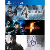 Juego Digital Triple Pack Resident Evil Ps4