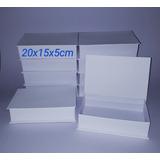 Caixa Convite Cartonagem 20x15x5 Kit Com 10caixas