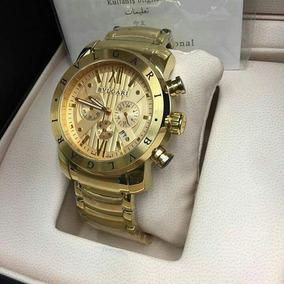 3756e88c5e2 Bvlgari Serie Ouro De Luxo - Relógio Bvlgari Masculino no Mercado ...