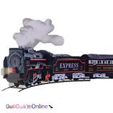 Tren Juguete Escala Pila Aa Locomotora Mas 2 Vagones