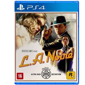 Jogo L.a. Noire - Ps4 - Não Perca