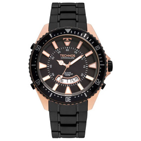 Relógio Technos Skydiver Masculino T205fw 4p Dourado - Relógios no ... 8758afeb73