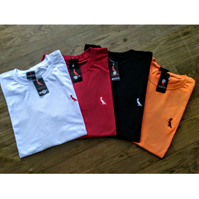 Kit 3 Camisas Camisetas + 2 Short Multimarcas Modelos 2018