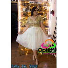 Vestido Lentejuela Talla Extra 2xl 3xl