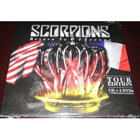 Cd + 2 Dvds Scorpions / Return Forever / Nuevo