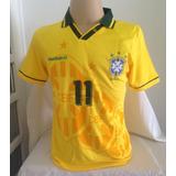 48c8d66ded Brasil Retro 1994  11 Romário - Tamanho Gg - P Entrega