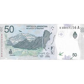 Nuevo Billete Argentina $ 50 Condor Reposicion Unc Palermo