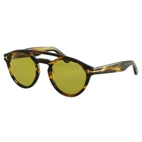 e63cd6d360b93 Oculos Marrom Feminino - Óculos De Sol Tom Ford no Mercado Livre Brasil
