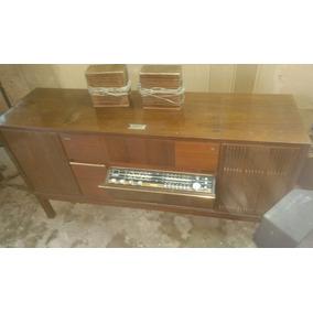Toca Disco Radio Vitrola Anos 70