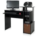 Furinno 12095bk/br Econ Multipurpose Home Computadora