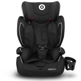 Cadeirinha De Carro Auto Bebê Preta 9 A 36kg Weego Multikids