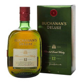 Whisky Buchanans 12 Años (1-litro) 100% Original