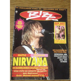 Revista Bizz Nirvana Edição 80 Março 1992