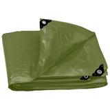 Lona Uso Rudo Verde Olivo 12 X 17 Mt. Truper Expert (16380)