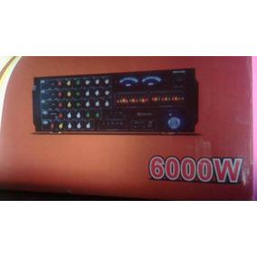 Amplificador O Planta Casera Chinvco Modelo Av-8900 De 60
