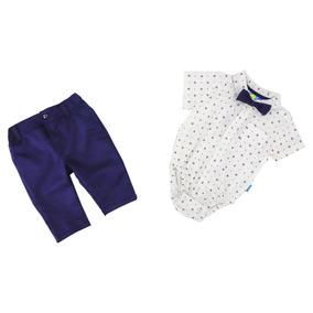 Conjunto De Niño Pañalero Y Pantalón 03782