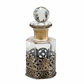 Mini Garrafa Perfumeiro Decorativo Em Vidro Cod. 434-003