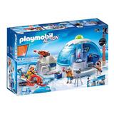 Brinquedo Playmobil Sede Da Expedição Ártica 9055