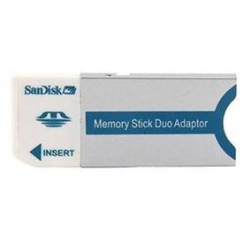 Adaptador Duo Memoria Stick Para Cámara Fotográfica Sandisk