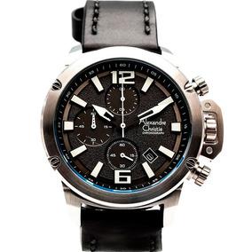 Reloj Alexandre Christie Sport Crono Orignal 6487mclssba