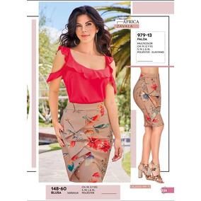 Blusa Dama Naranja Cklass C/holanes Sexy 148-60 Pv-2019