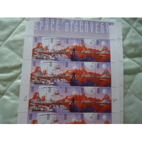 Selo Americano - Space Discovery - 1998