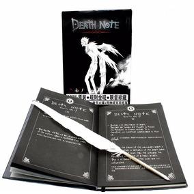Caderno Anime Death Note Oficial + Caneta Pena Pronta Entreg