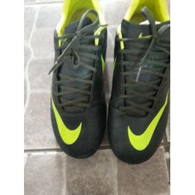 e641228ceb Chuteira Nike Mercurial Verde Usada - Chuteiras Nike