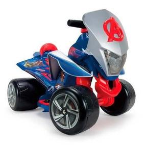 Cuatrimoto Eléctrica Quad Niños Avengers Injusa 6v Moto