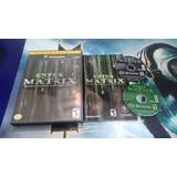 Enter The Matrix Completo Para Nintendo Game Cube,excelente