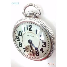 Reloj Waltham Bolsillo Antiguo Crescent St Cronometro Fino