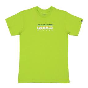 Camiseta Masculina Quiksilver Juvenil Extra