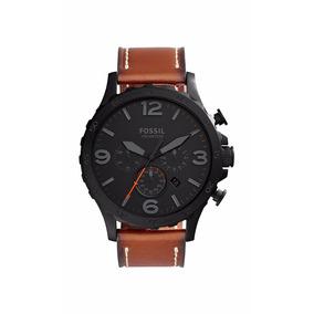 Relógio Fossil Masculino Jr1524 2pn Preto Couro Oferta 94bdb582b8