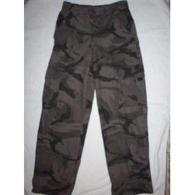 Pantalon Wrangler Camuflado Niño O Adolescente Talla12