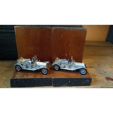 Preciosos Sujetalibros De Autos Ingleses Antiguos