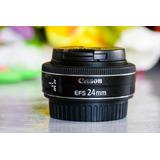 Lente Canon 24mm 2.8 Stm Pancake