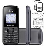 Celular P Idoso Simples Lg B220 Dual Chip Rádio Antena Rural