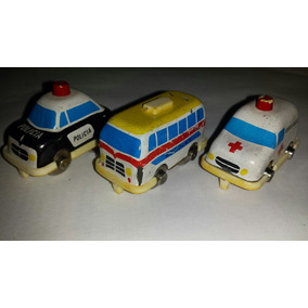 Lote Kit Com 3 Carrinhos Autoban Glasslite