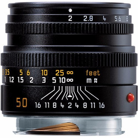 Leica Summicron M 50mm F/2 Lente 11826