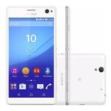 Smartphone Sony Xperia C4 Dual E5343 Branco 16gb (vitrine)