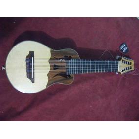 Charango De Lux Electroacústico De Luthier