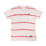 Camiseta Grizzly Earthquake Stripe-tie Dye Red f992df22f65
