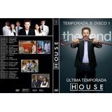 Seriado Dr. House (1ª Até 5ª Temporada) Novos E Original