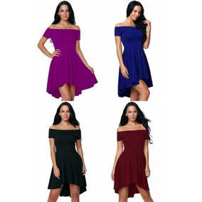 Vestidos Azul Rey Vino Negro Tallas Extras Corto Largo Moda