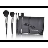 Set De Brochas ,mary Kay + Brocha Maquillaje Liquido Regalo!