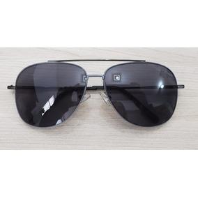 062f3577d3cd4 Óculos De Sol Modelo Boston 4clover Uv400 Preto Aviador