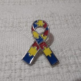 Pin/ Broche Laço Simbolo Autismo (pronta Entrega)