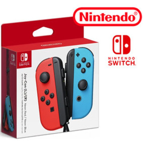 Nintendo Switch Joy-con (l/r) Neon Red Blue Controle