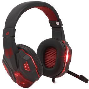 Headset Gamer Pc Fone Ouvido Ps4 Celular Exbom P2 Usb Leds